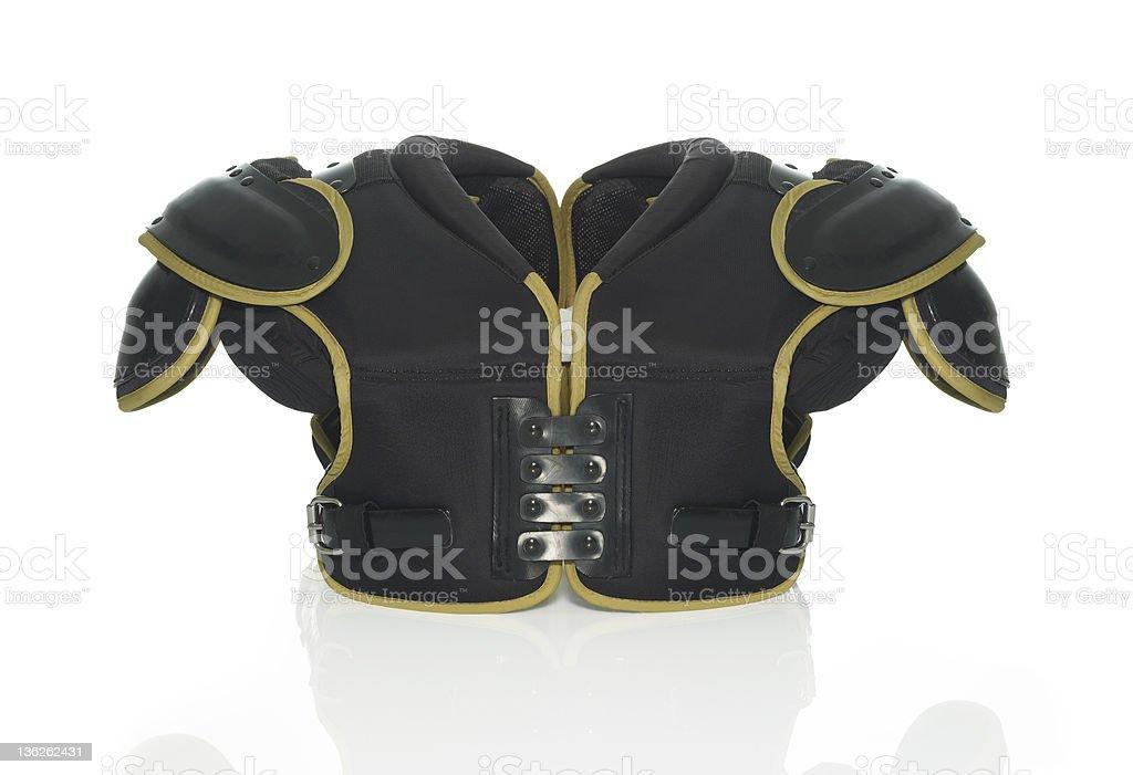 Shoulder pad stock photo