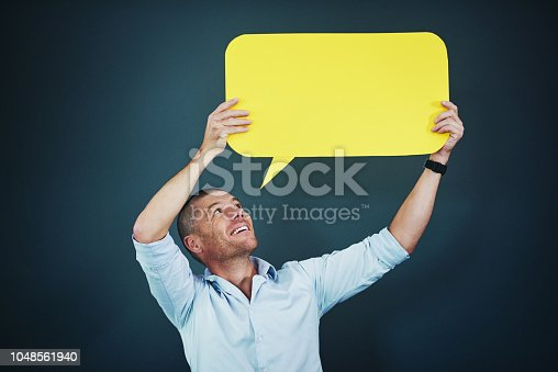 1048561866 istock photo Shout it out loud 1048561940