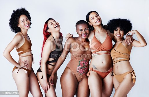 istock Shout out to all the women embracing their differences 910870286