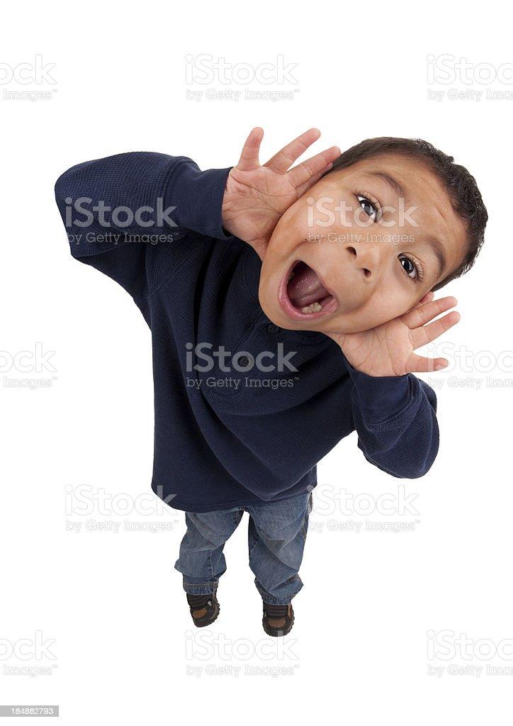 Schreien kleine Jungen – Foto