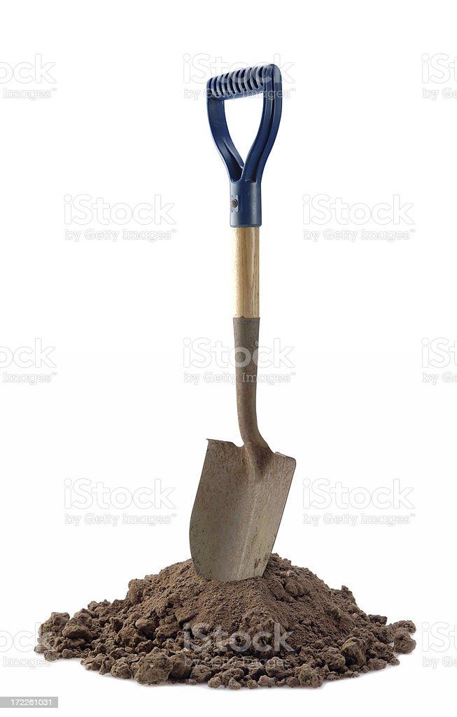 Shovel Ready royalty-free stock photo