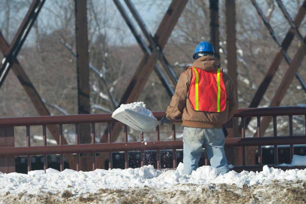 Shovelling Schnee – Foto