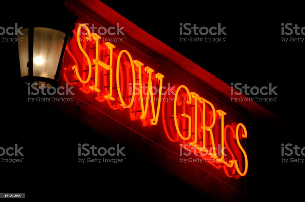 Show Girls stock photo