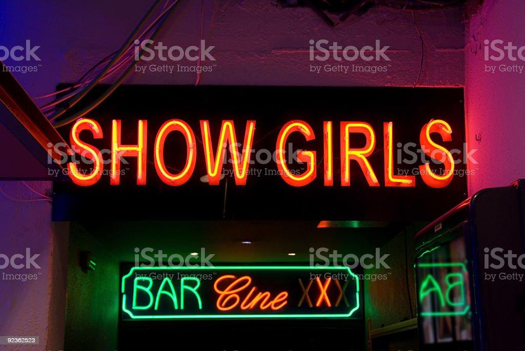 Show Girls royalty-free stock photo