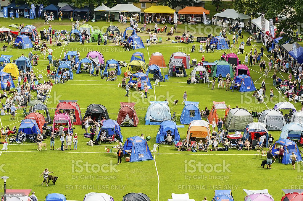 Show ground from above stock photo
