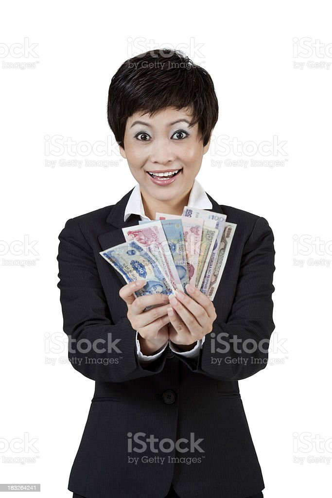 Show Me The Money royalty-free stock photo