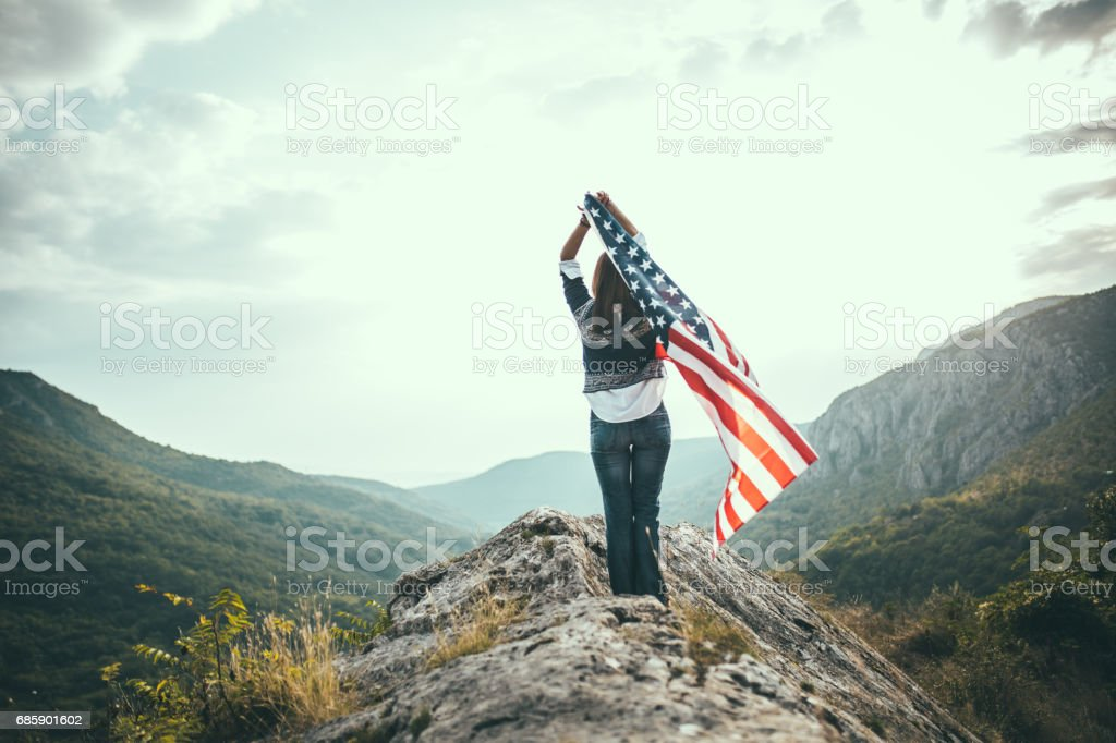 Show the world your colors stock photo