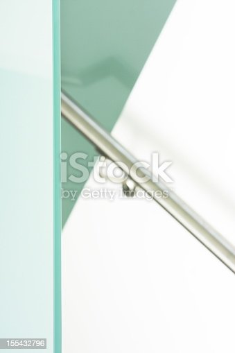 168248826 istock photo Showcase Home Handrail Wall Decor 155432796