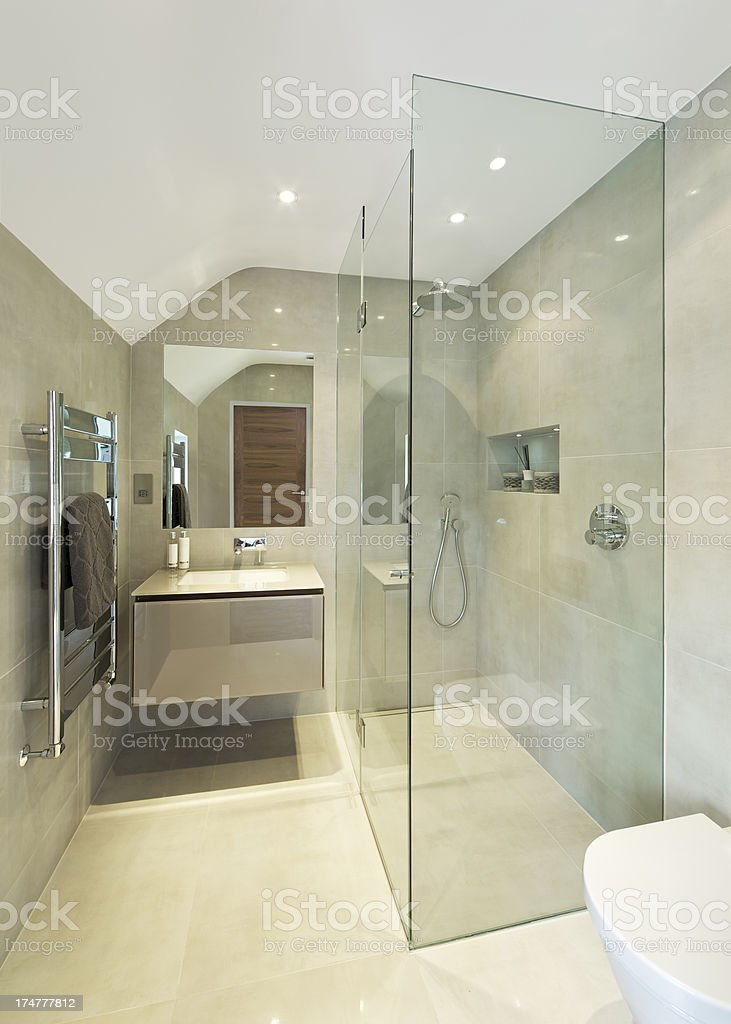 Shower Cubicle royalty-free stock photo