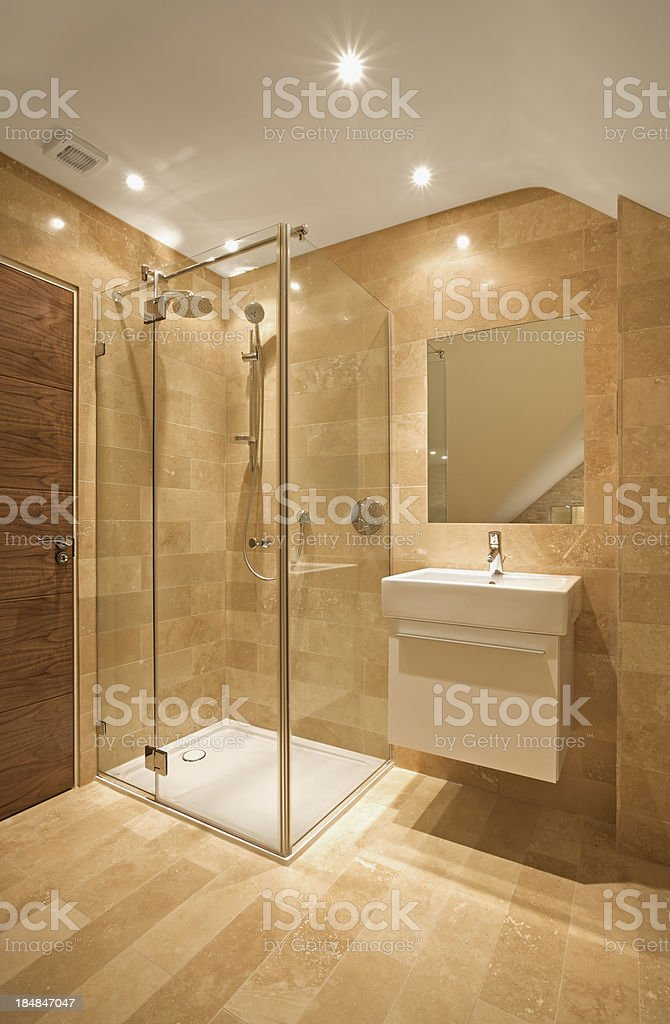 Shower Cubicle Stock Photo & More Pictures of Architectural Feature ...