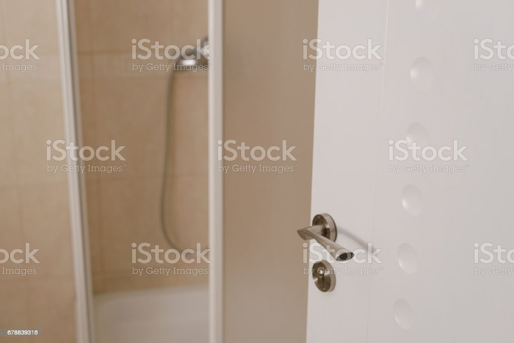 shower cubicle photo libre de droits