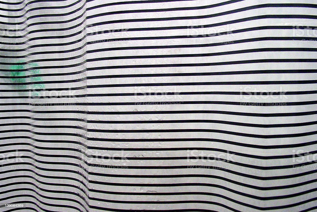 Shower Curtain stock photo