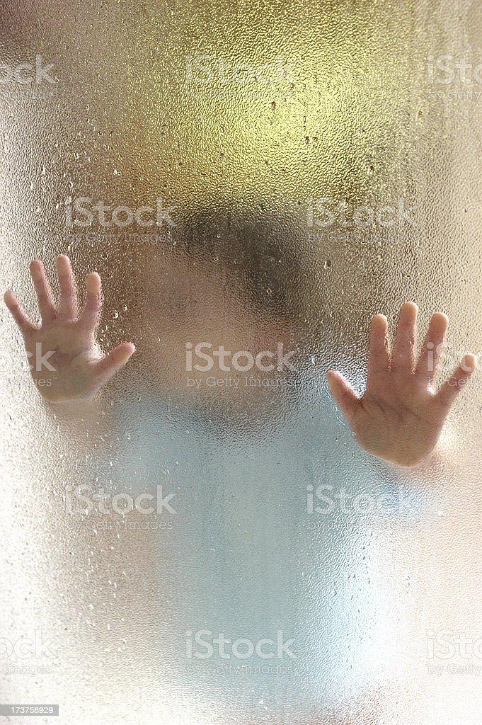 Shower Door royalty-free stock photo