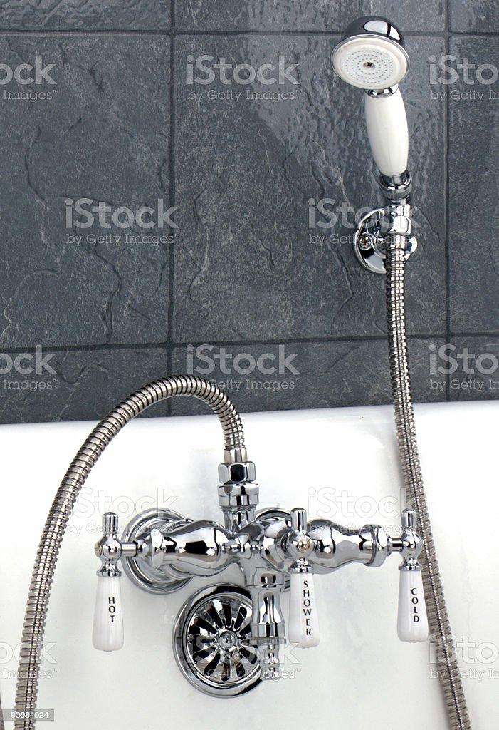 Shower Faucet stock photo