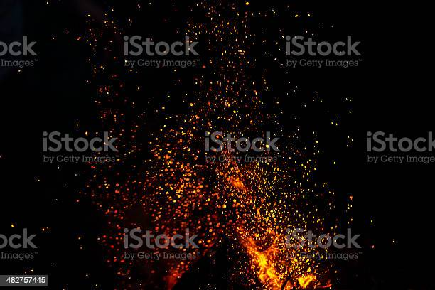 Photo of shower of sparks background