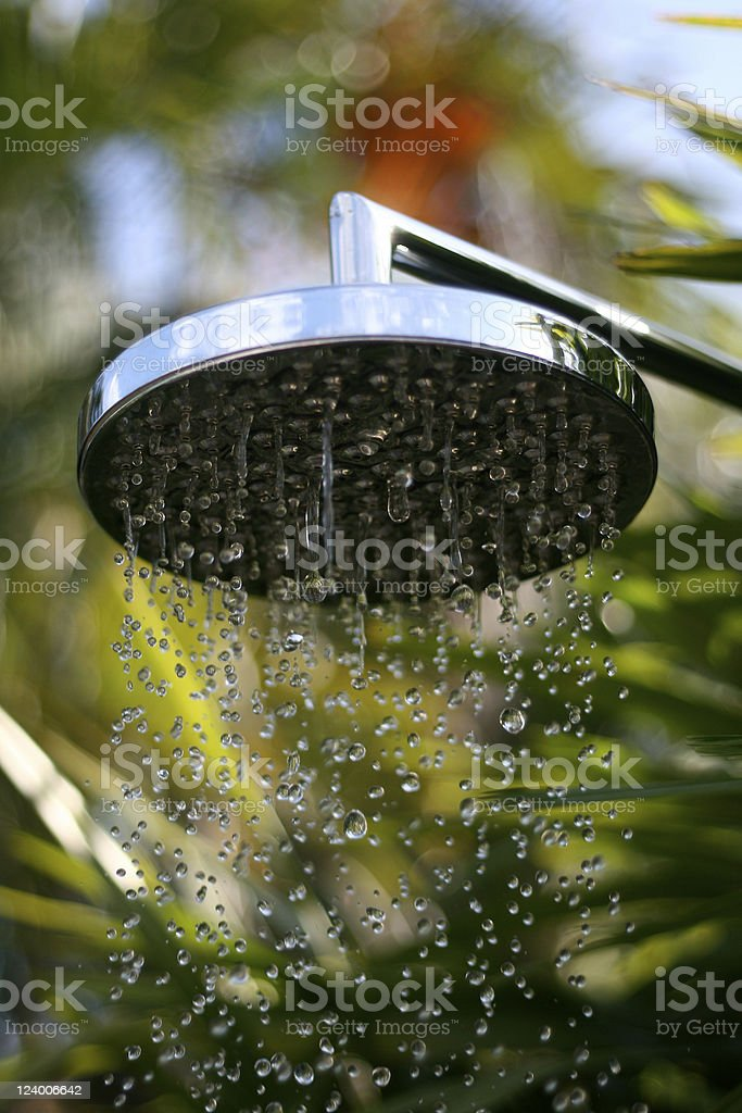 Shower royalty-free stock photo