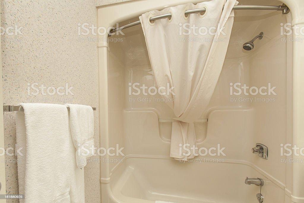 Shower Stall stock photo