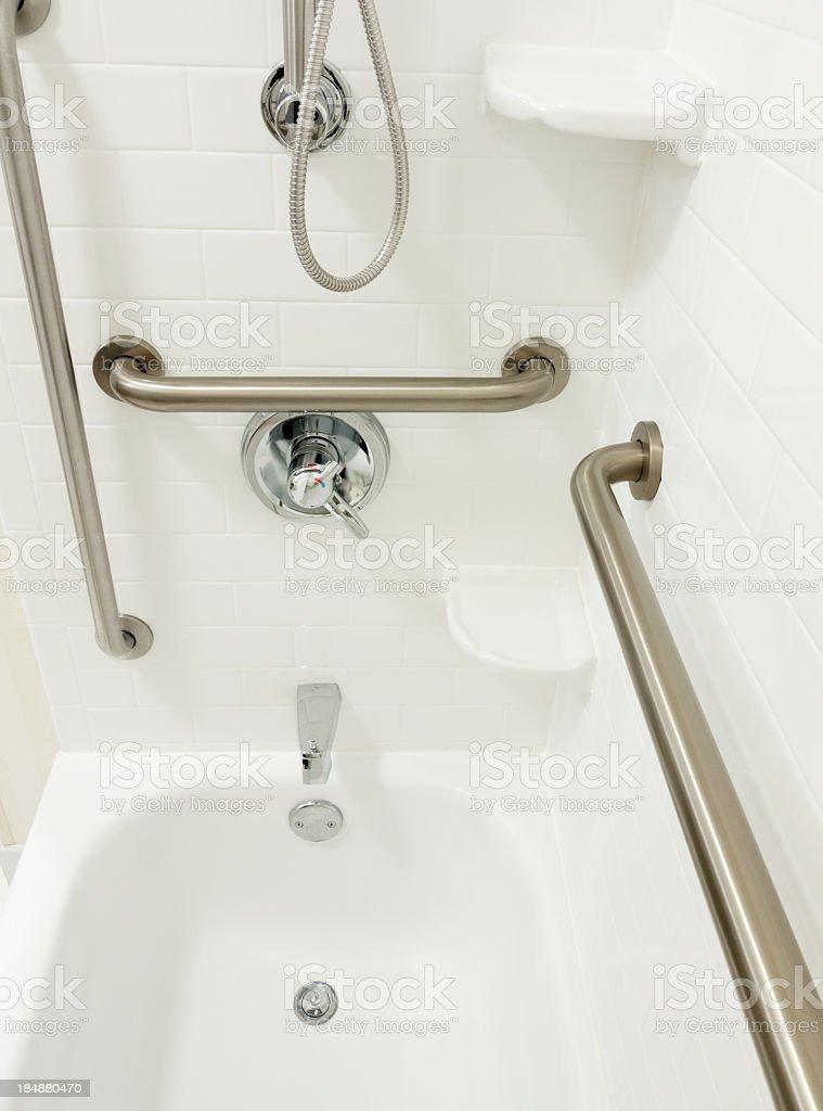 Barrierefreie Behindertengerechte Dusche – Foto