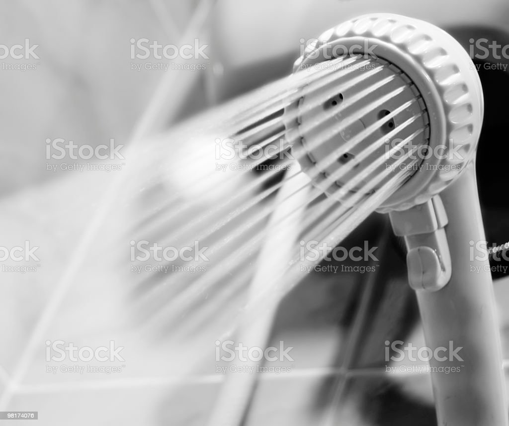 Showerhead royalty-free stock photo