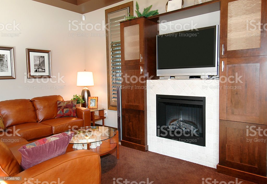 Showhome Living Room royalty-free stock photo