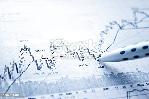 istock Showing business and financial report 473742080