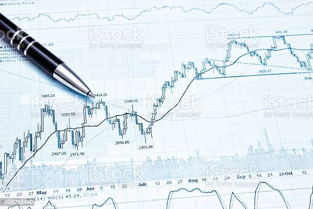 Showing Business And Financial Report Stock Photo - Download Image Now