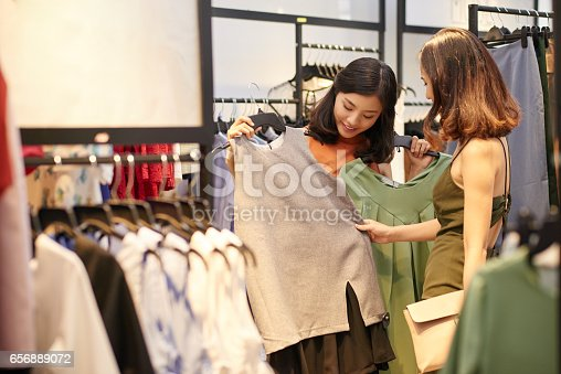 istock Showing clothes 656889072