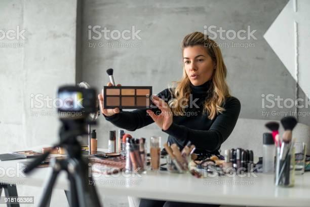 Showing New Make Up Pallet Stock Photo - Download Image Now