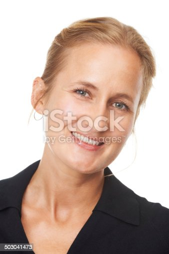 istock Showing off her beautiful smile 503041473