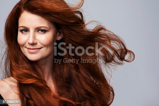 istock Showing off her crowning glory 512960251
