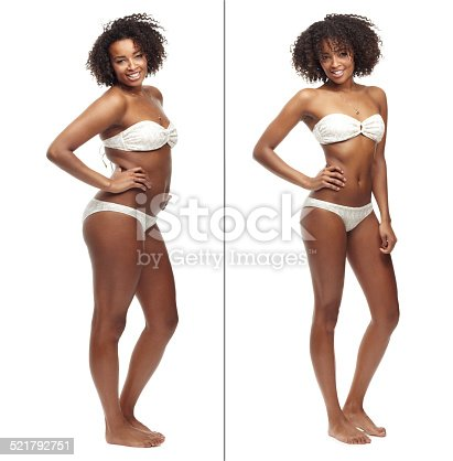 521792745istockphoto Showing off her stunning body 521792751