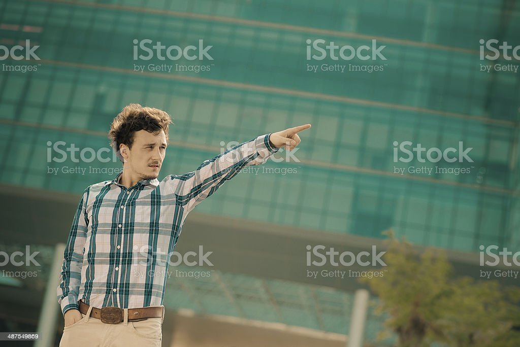 Showing royalty-free stock photo