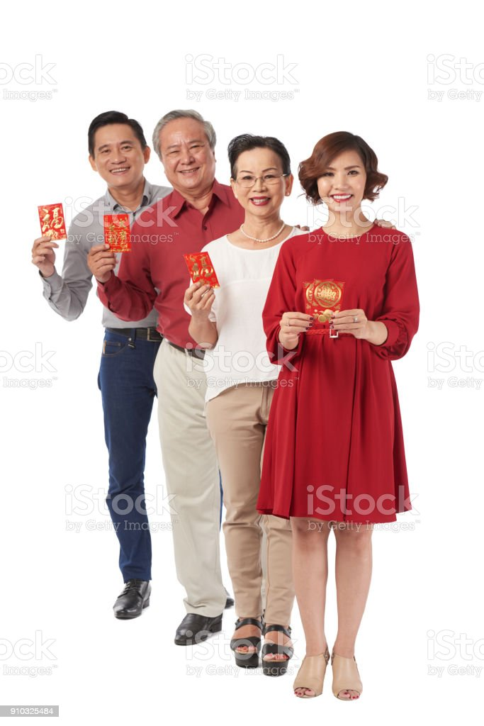Showing tet greeting cards stock photo more pictures of adult istock showing tet greeting cards royalty free stock photo m4hsunfo