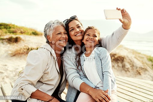 istock Showing the world where all our good looks come from 1166350142