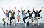 istock Showing up makes us all winners! 1135562905