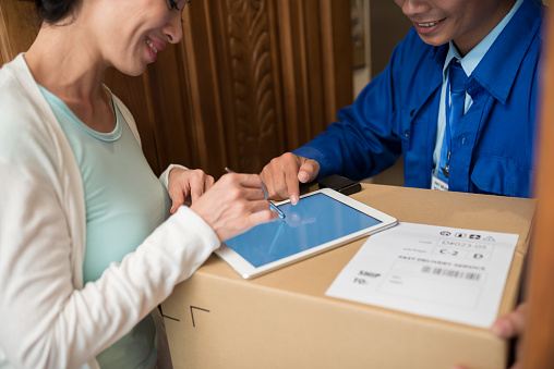 Showing Where To Sign Stock Photo - Download Image Now