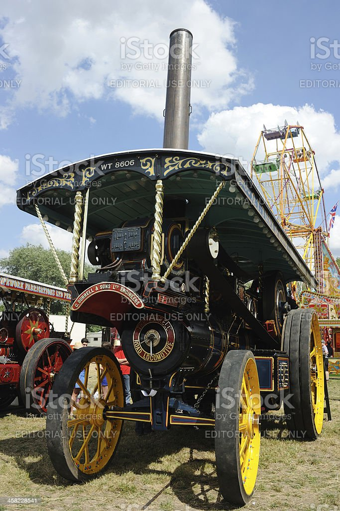 Showman's Traction Engine royalty-free stock photo