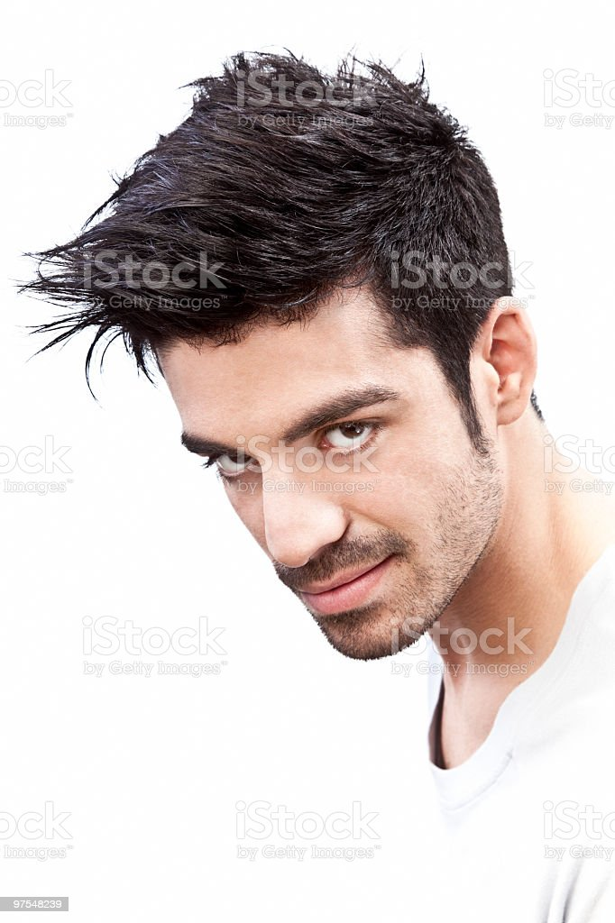Show-off man royalty-free stock photo