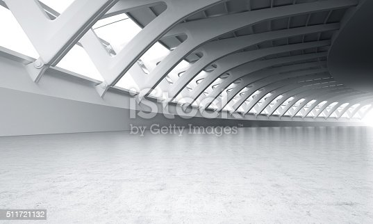 istock Showroom car modern concrete background stage 511721132