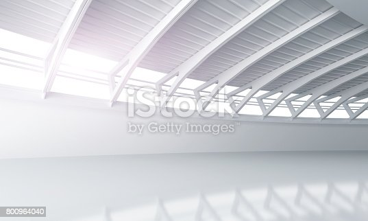 istock Showroom car modern concrete background stage 800964040
