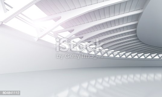 istock Showroom car modern concrete background stage 804841112