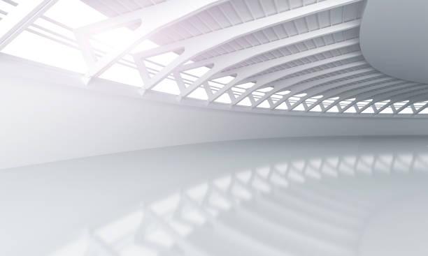 ausstellungsraum auto modernen konkrete hintergrund bühne - tunnelkamin stock-fotos und bilder