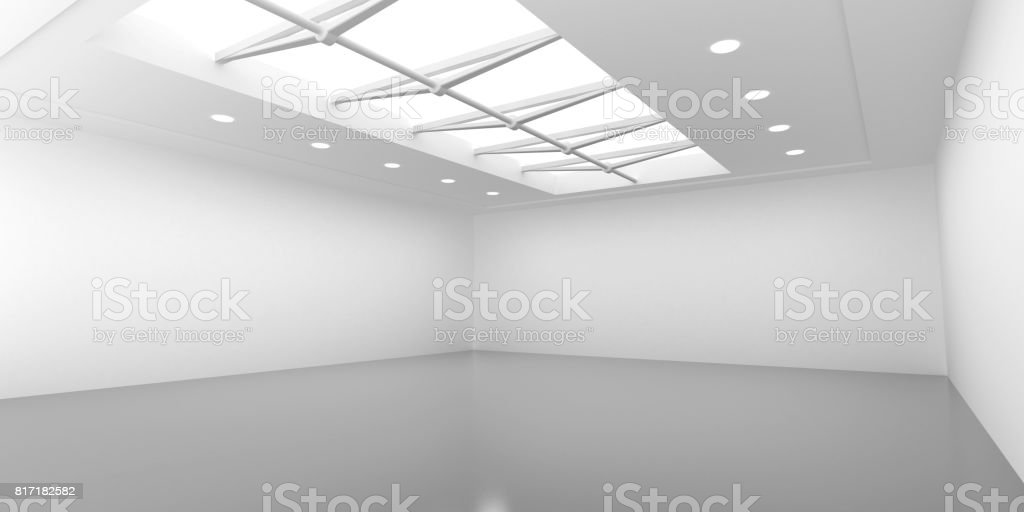 Showroom stock photo