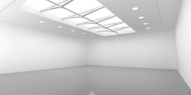 showroom an - betondecke stock-fotos und bilder