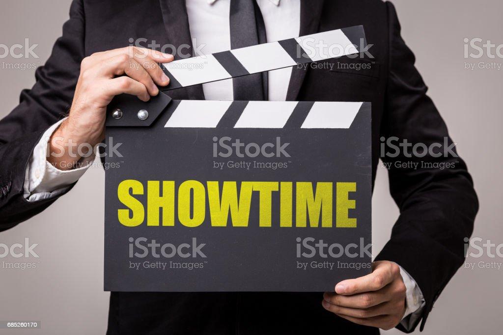 Showtime stock photo