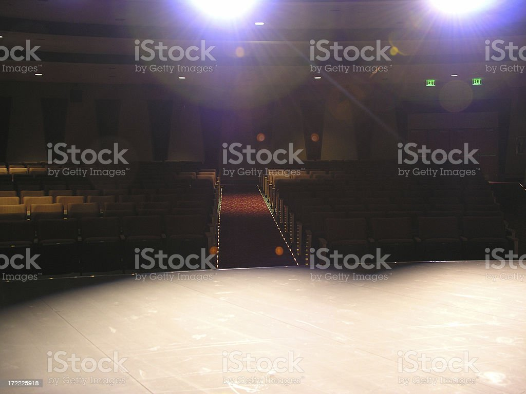 Showtime - Stage royalty-free stock photo
