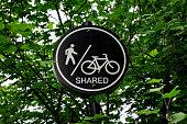 Shred pathway bike cycling walking