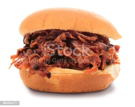 istock Shredded BBQ Sandwich (PATH) 484344711