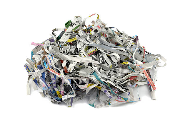 shredded - shredded paper stock photos and pictures