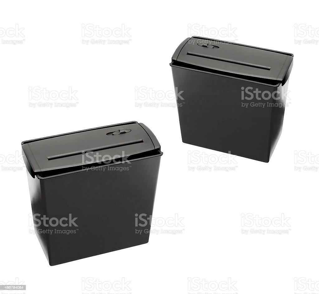 Shredder isolated stock photo